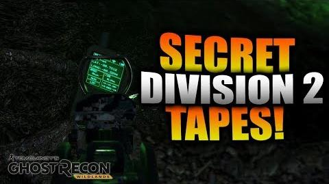 Ghost Recon Wildlands - All SECRET Division 2 Tapes Found! The Division 2 Easter Egg