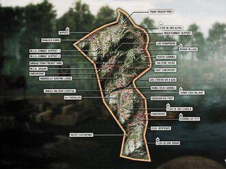 Map Flor de Oro