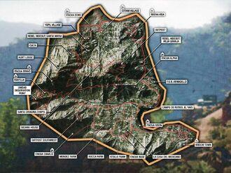 Map Itacua