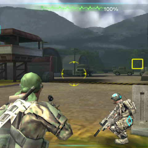 Ghosts assaulting the Loyalist Base