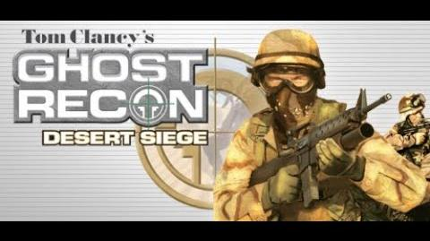 Ghost Recon Desert Siege trailer ( PS2 )