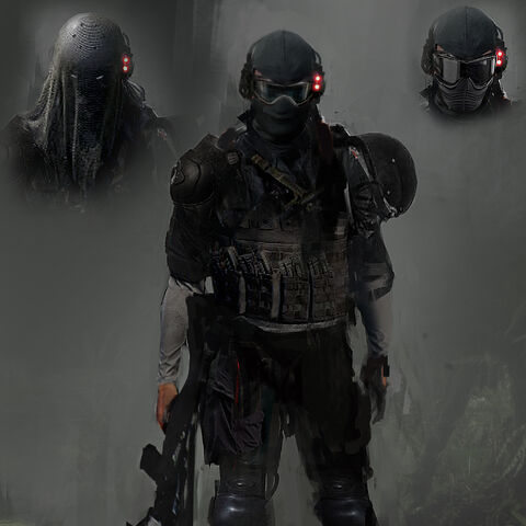 Covert Ops early version concept art