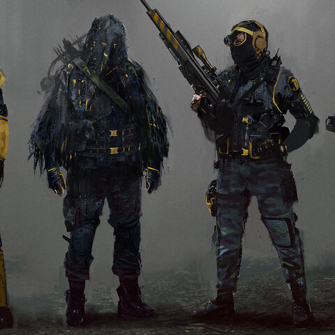 Other Foot Units' concept art