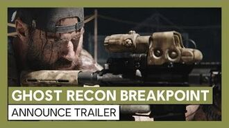 Ghost Recon Breakpoint- Official Announce Trailer