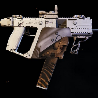 The Unique variant of the Vector .45 ACP, the Mendeleyev. (Wildlands)
