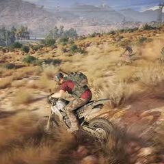 Using a bike