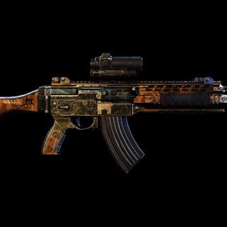 Side view of the Unique variant, the SIG556 Llama. (Wildlands)