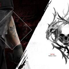 Walker's tattoos