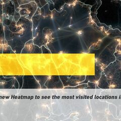 Heatmap shown in the game's opening page.