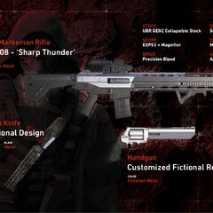 Walker's weapons