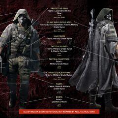 Walker's outfit description
