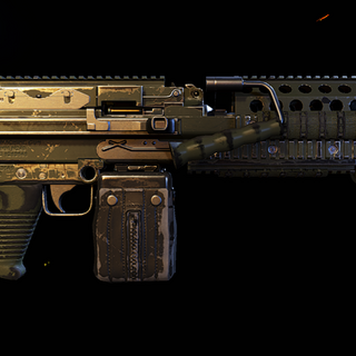 Stock MK-48 with worn paint. (Wildlands)