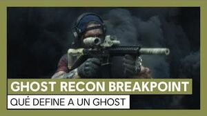 Ghost Recon Breakpoint Tráiler acción real Qué define a un Ghost