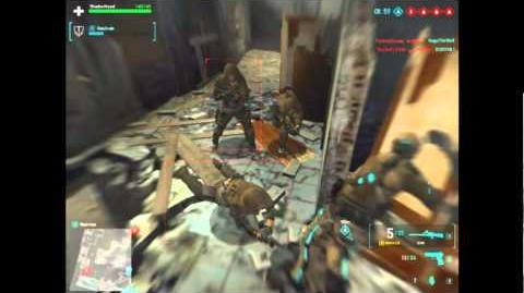 Ghost Recon Online Combat Footage Entry