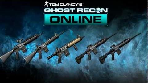 Ghost Recon Online - M27 Family Sound