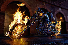 Hellcycle ghost rider