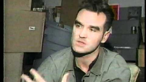 Morrissey visits Grand Rapids Record Store Vinyl Solution