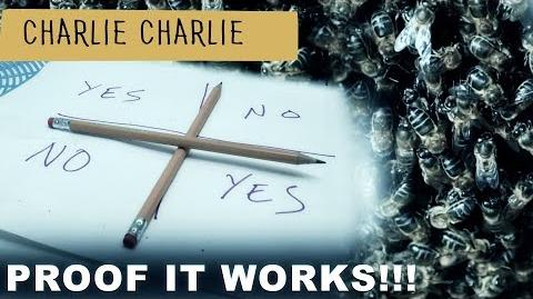 CHARLIE CHARLIE CHALLENGE IS REAL - THIS IS PROOF