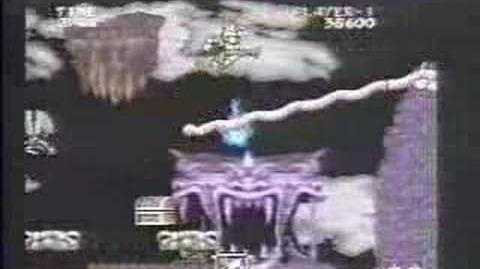 大魔界村 Ghouls N' Ghosts PC Engine Supergrafx CM (1990)