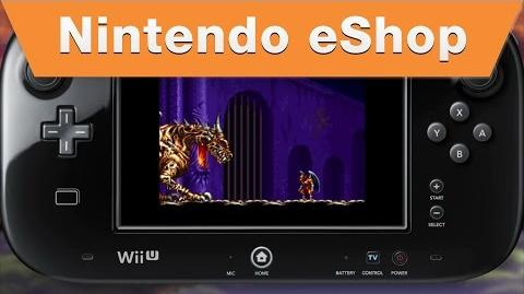 Nintendo eShop - Demon's Crest on the Wii U Virtual Console