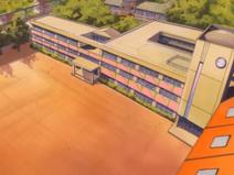 15 Overhead school front