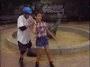 Gaby & Alex the Rollerblader