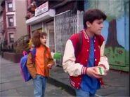 Gaby & Alex Walk to School