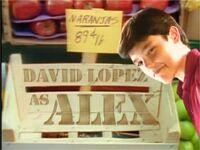 Dave as Alex