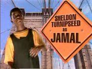 Sheldon as Jamal
