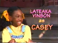 Lateaka as Casey