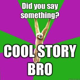 Cool story gibbon
