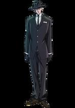 Guren Soshigaya anime design