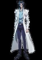 Dr. Yoshinaga anime design