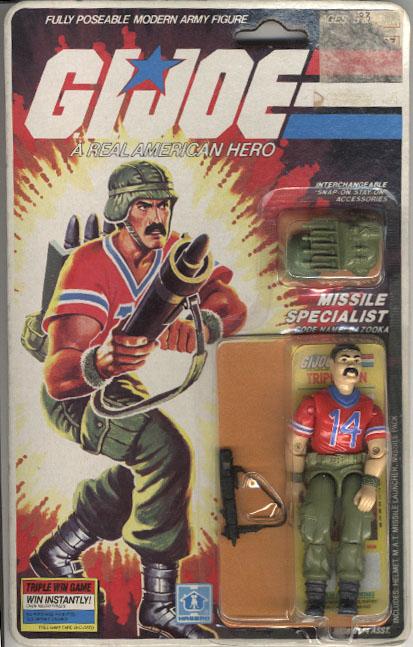 1985 GI Joe Cobra Tactical Battle Platform Base Complete Long Support Leg Part