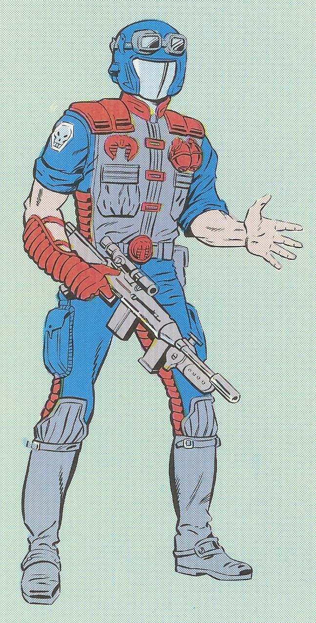 GI Joe 1986 TRIPLE T Side Gun