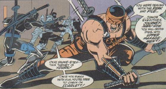 GI Joe Accessoire 1993 Night Creeper leader Crossbow