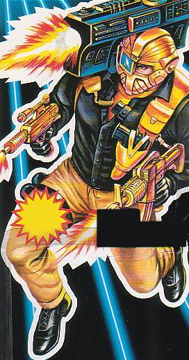 GI Joe 1993 Battle Corps MACE Missile