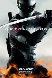 Gi joe retaliation Snake Eyes