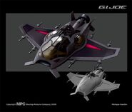 Mantis Attack Craft concept art