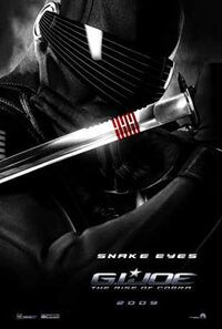 Gi joe poster snake eyes