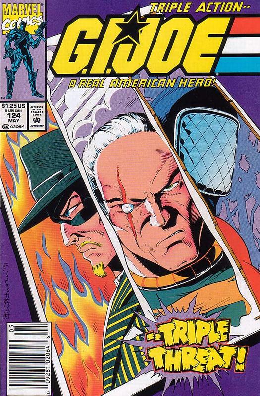 G.I.JOE A Real American Hero .vs NUNCHUK Cobra