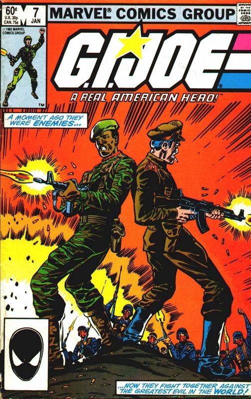 A Real American Hero ~ Marvel Comics Group #12 Other Bronze Age Comics Alert Gi Joe