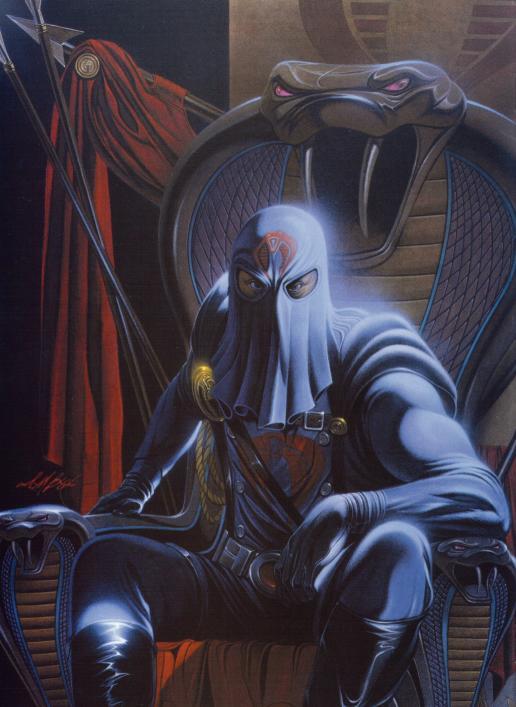 "Photo of Cobra Commander from ""GI Joe"""
