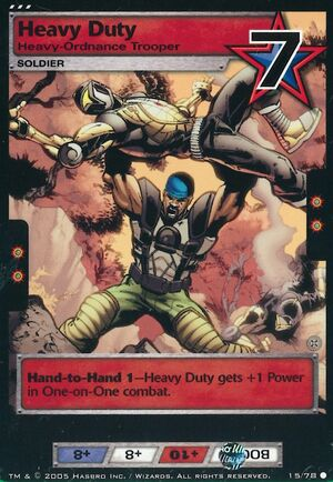 Heavy duty ordnance