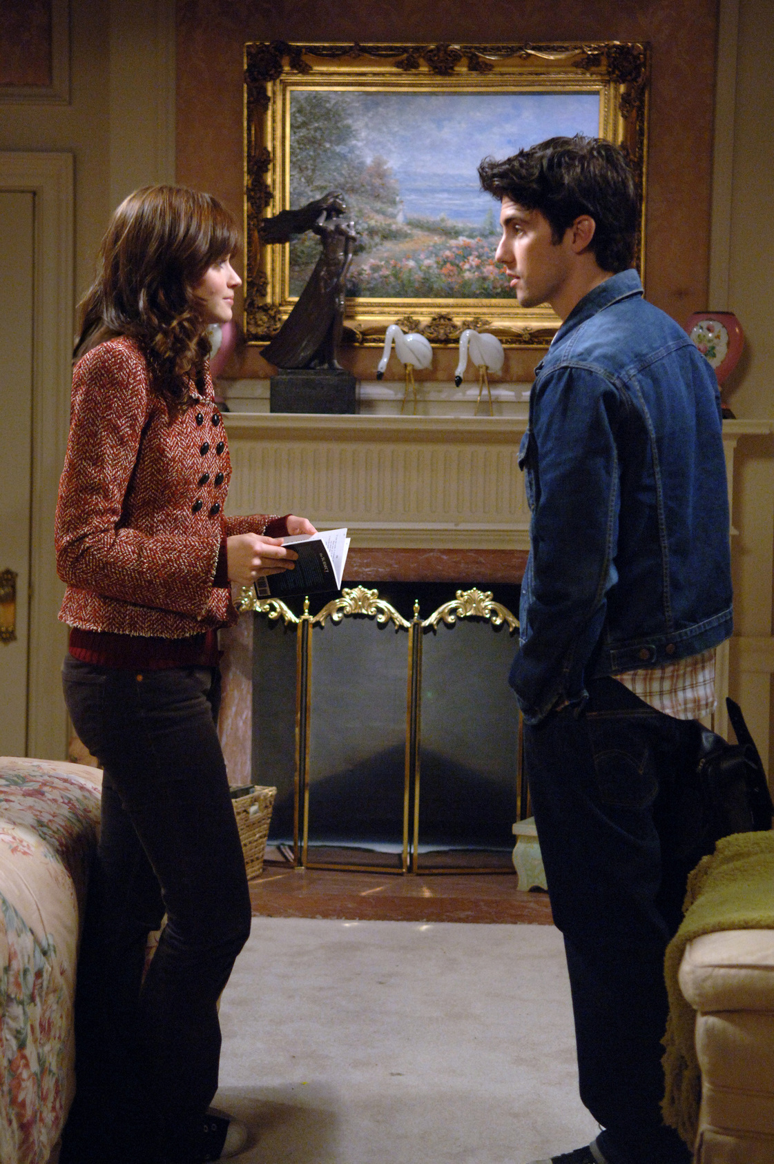 Wanneer doen Rory en Logan start dating