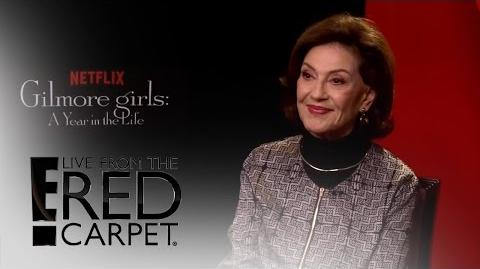 "Kelly Bishop Spills on ""Gilmore Girls A Year in the Life"" E! Live from the Red Carpet"