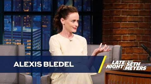 Alexis Bledel Acted Her Upper Face Off in The Handmaid's Tale