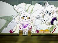 Haru practices divination