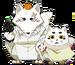 Chibi form of Gintarou & Haru
