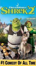 Shrek 2 vhs cover